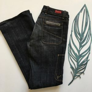 Citizen's of Humanity Wide Leg Jeans Long Inseam